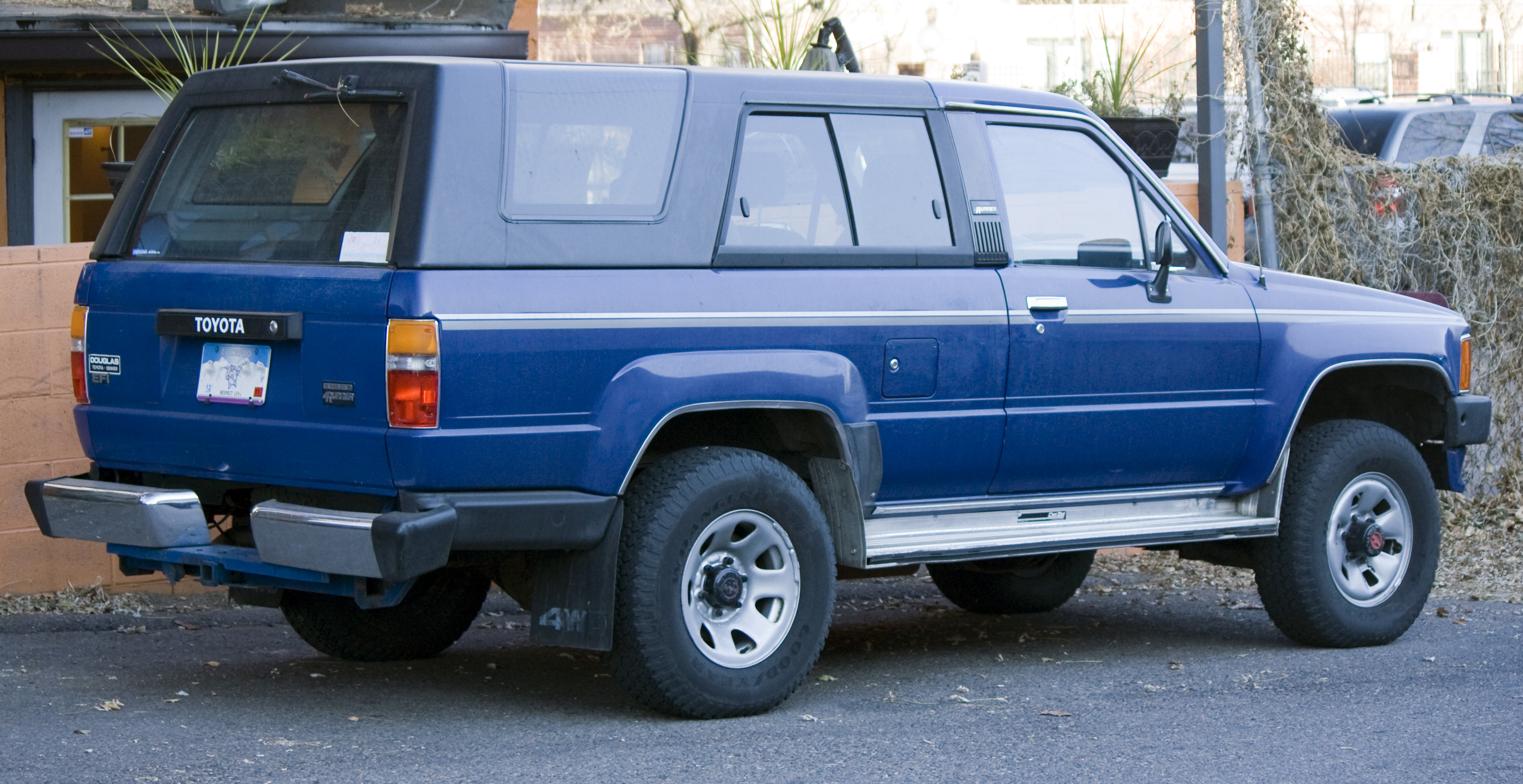 1986 Toyota 4runner Information And Photos Momentcar