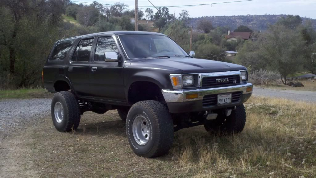 1991 toyota 4runner information and photos momentcar. Black Bedroom Furniture Sets. Home Design Ideas