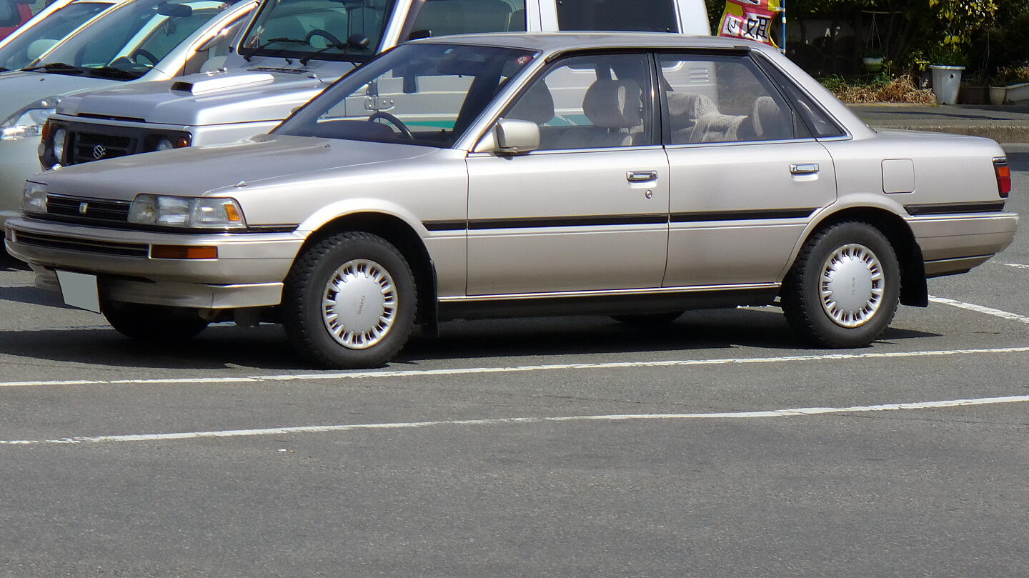 1988 Toyota Camry Information And Photos Momentcar