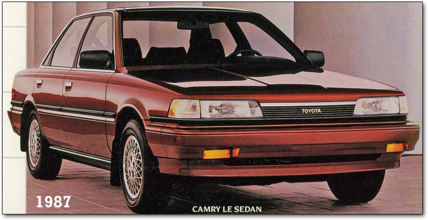 Toyota/lexus lover: 1988 toyota camry lx owners manual.