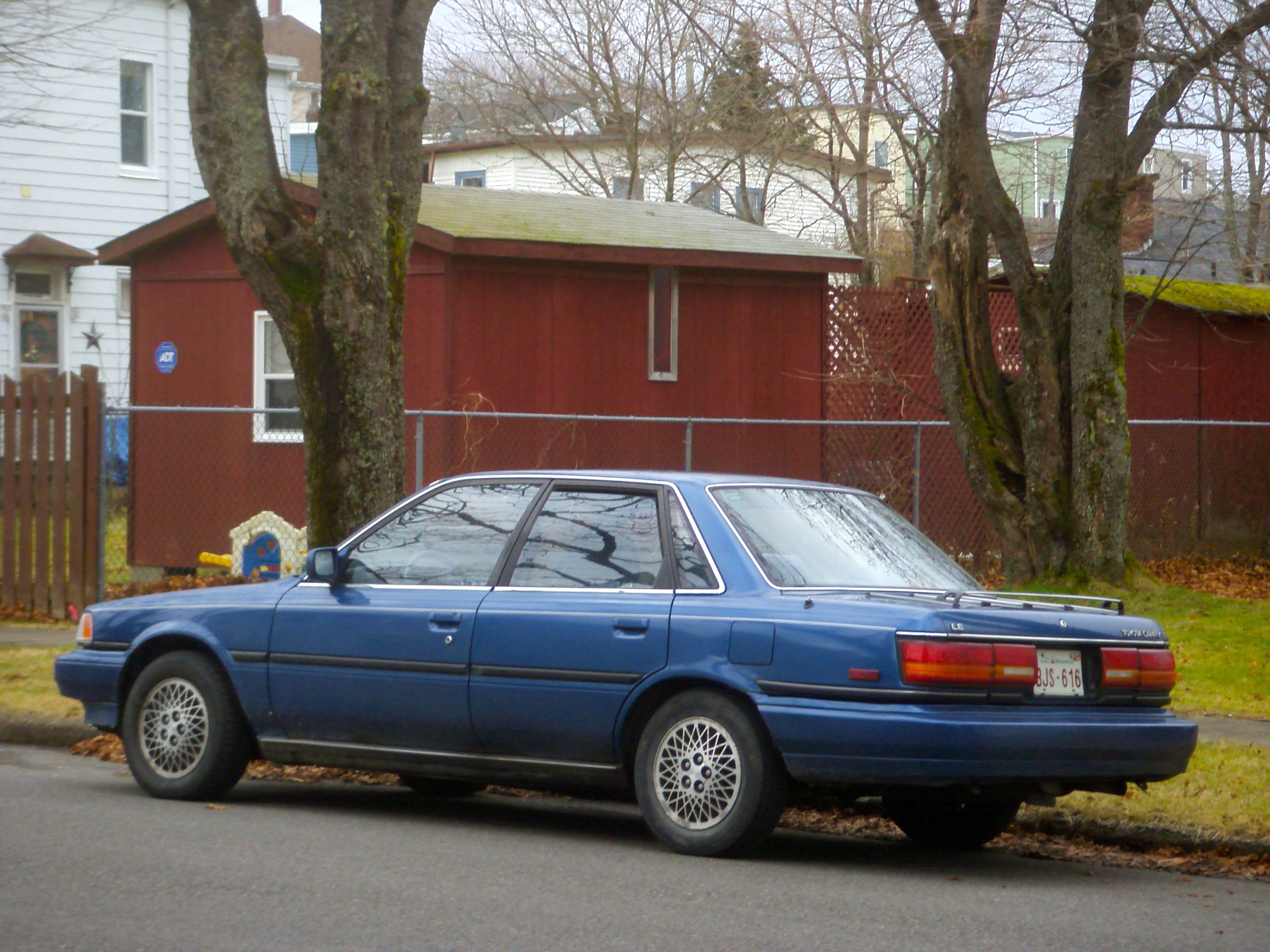 1990 Toyota Camry Information And Photos Momentcar