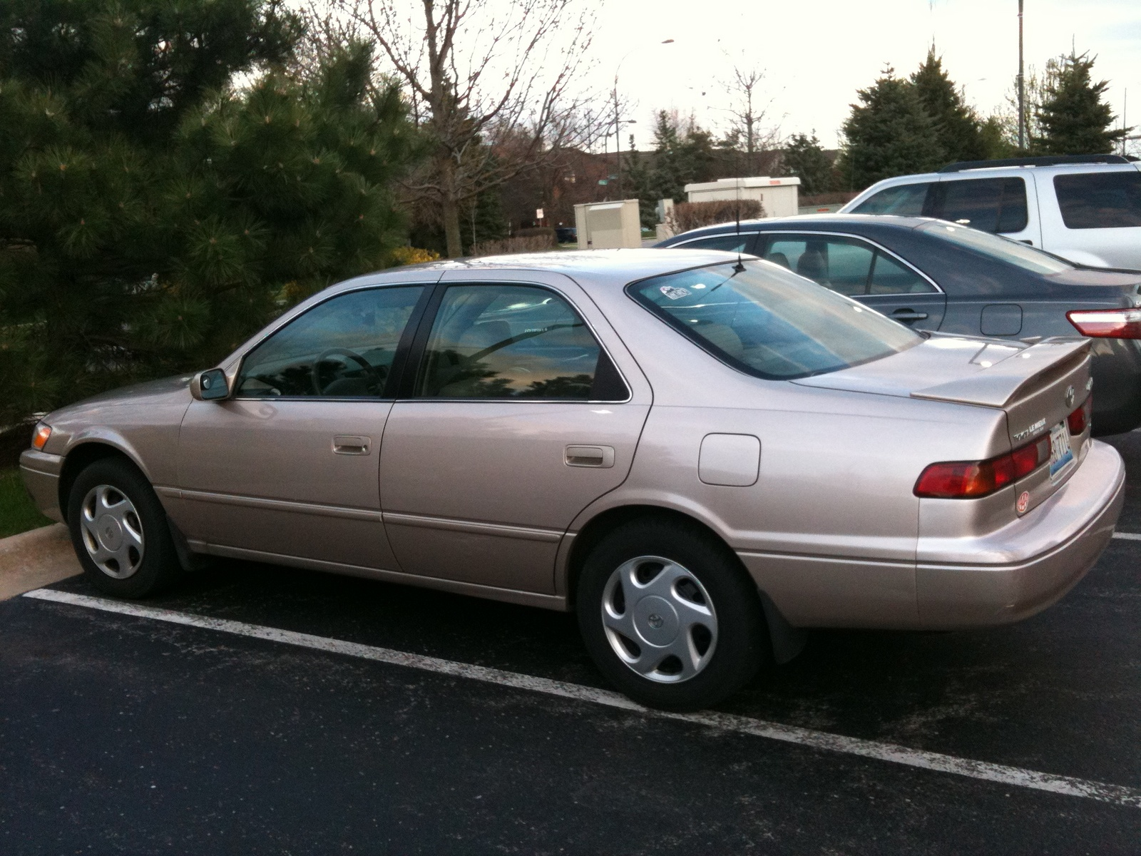 1997 Toyota Camry Information And Photos Momentcar