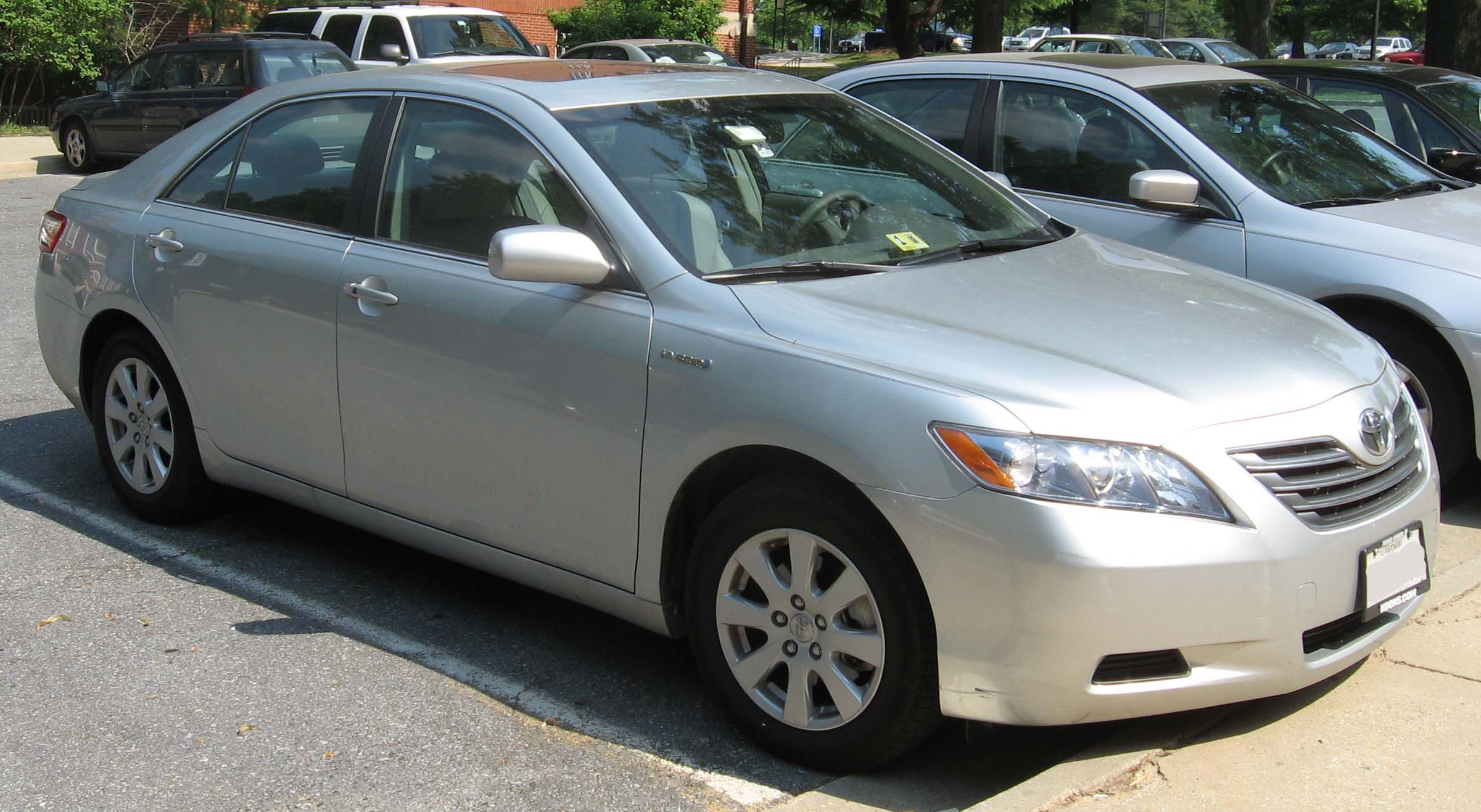 2007 Toyota Camry Hybrid Information And Photos Momentcar