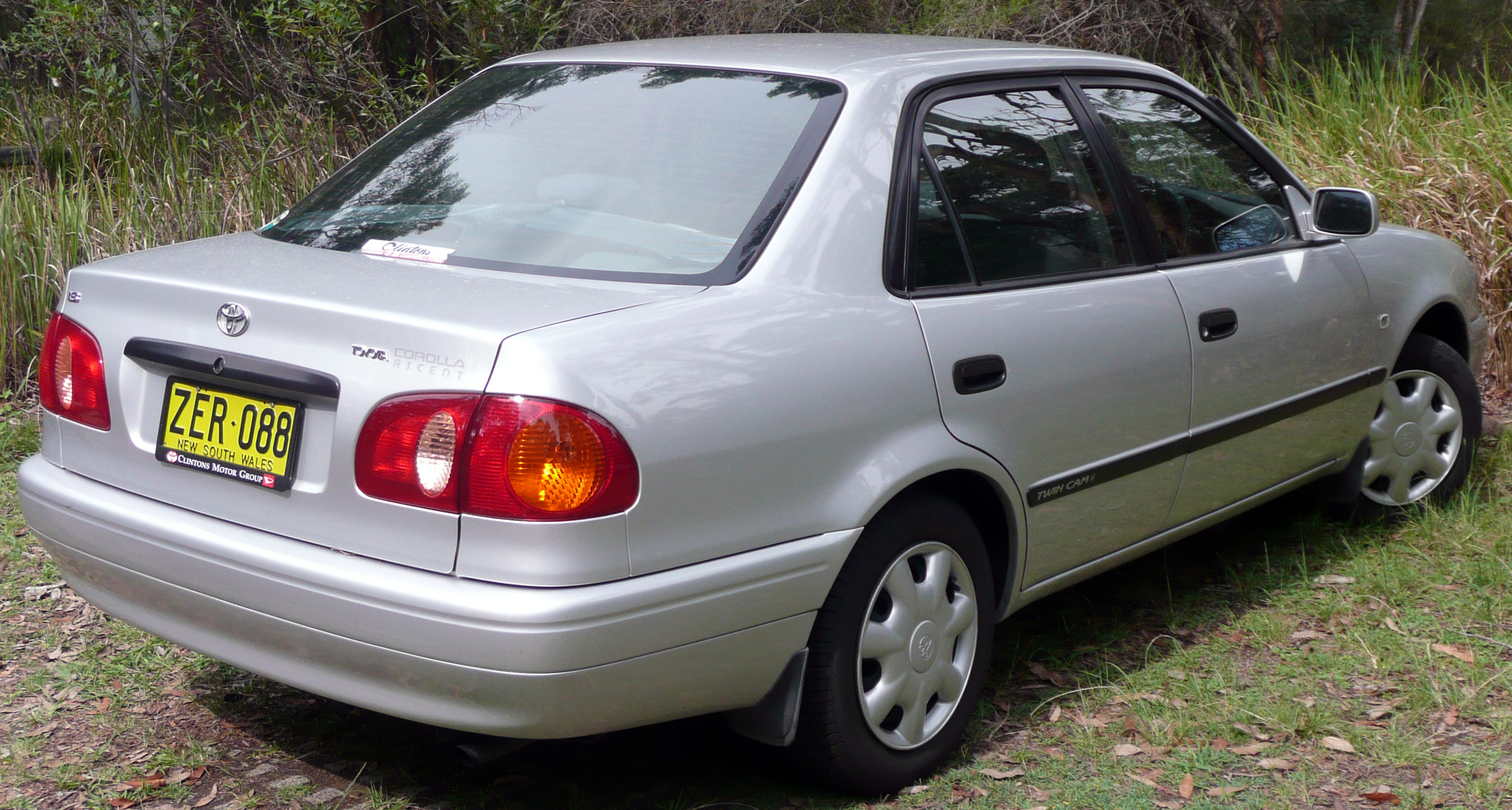 2000 Toyota Corolla Information And Photos Momentcar