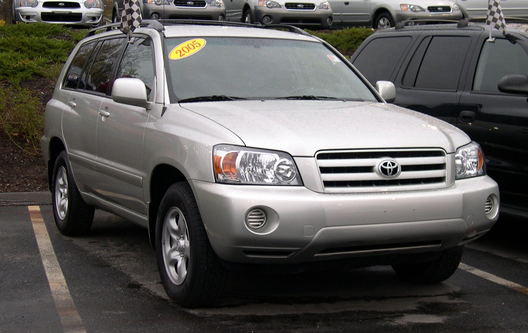 2005 Toyota Highlander Information And Photos Momentcar