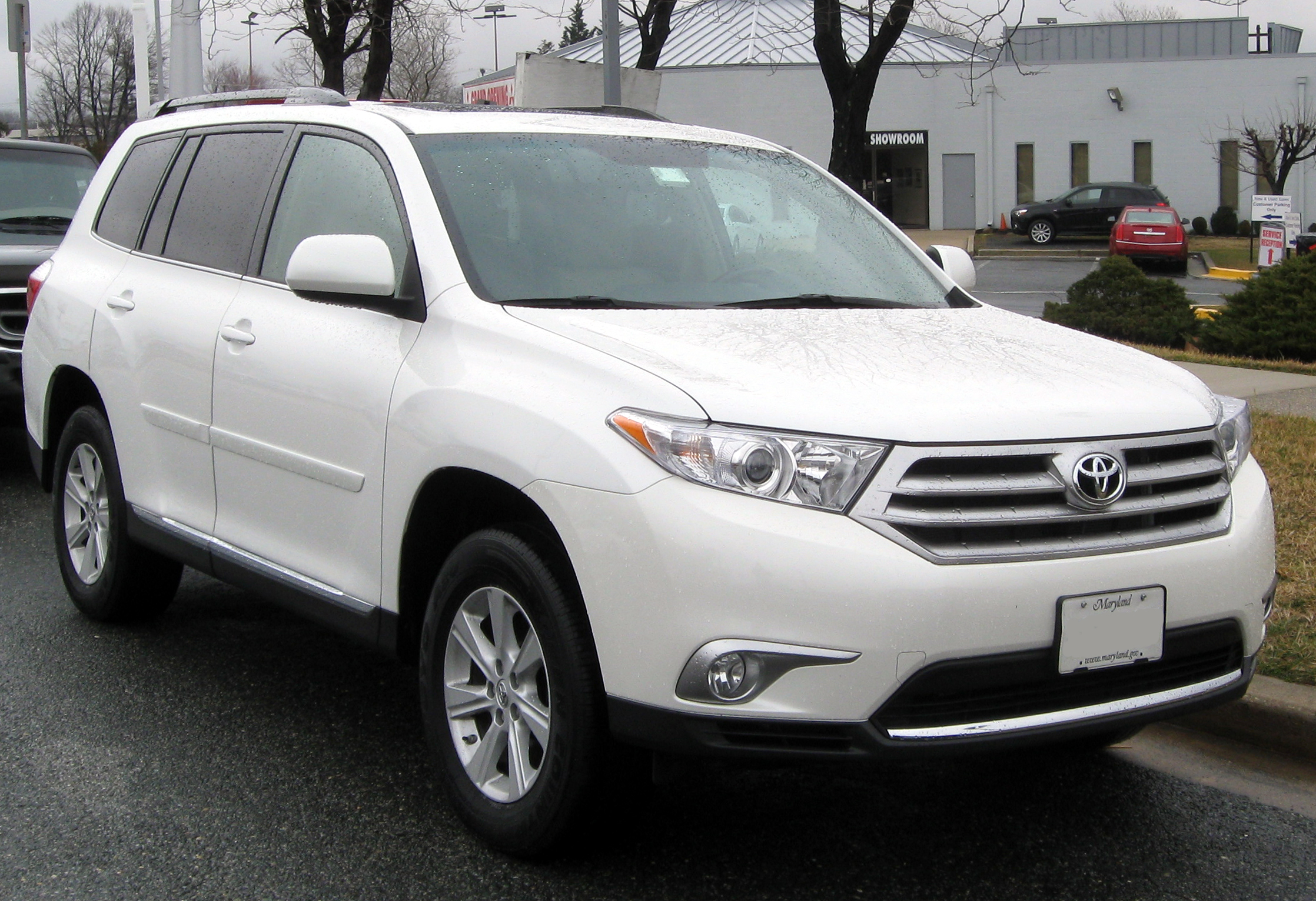 2012 Toyota Highlander Information And Photos Momentcar