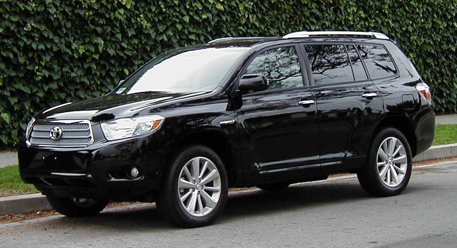 2009 toyota highlander hybrid information and photos. Black Bedroom Furniture Sets. Home Design Ideas