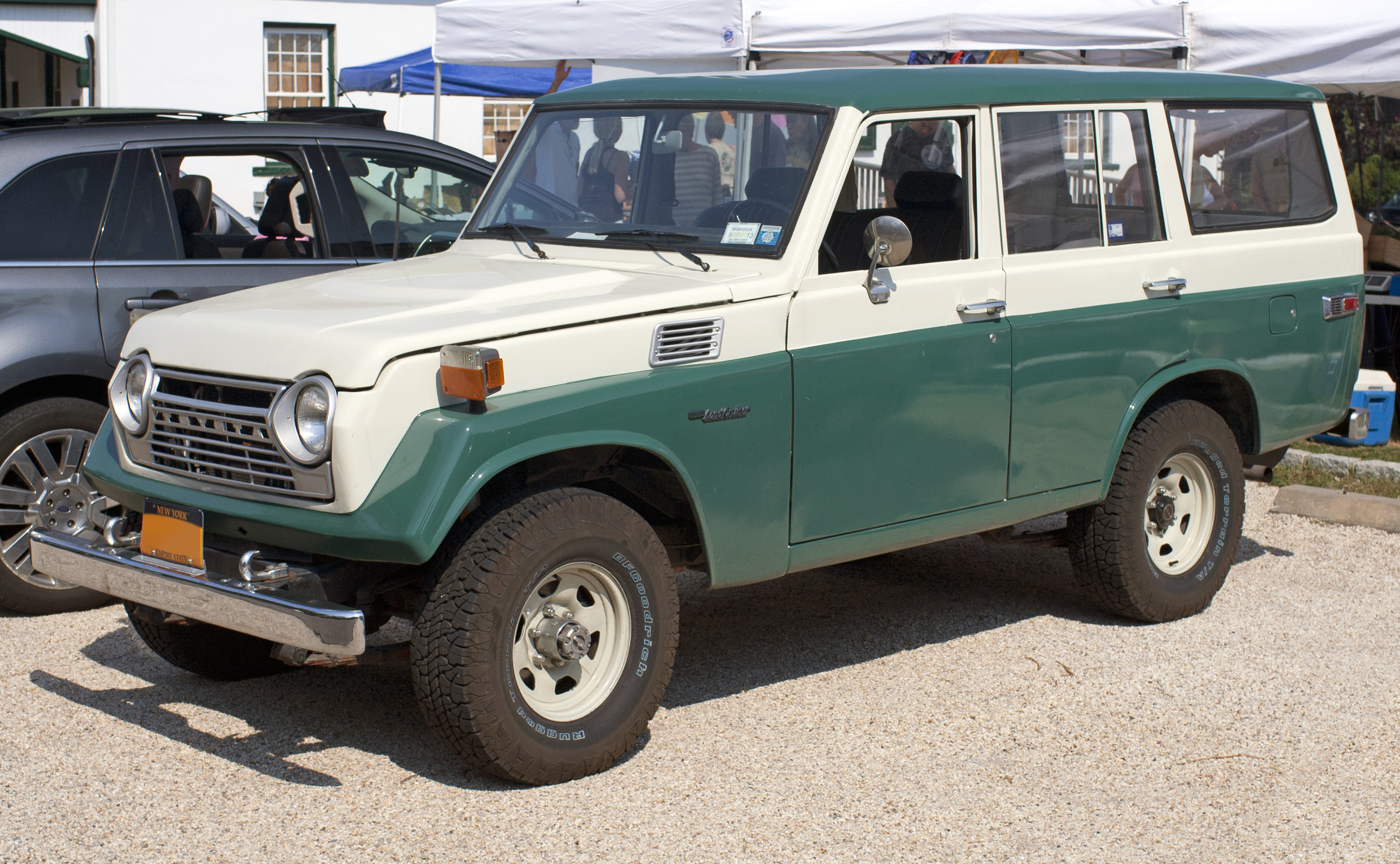 1968 Toyota Land Cruiser Information and photos MOMENTcar
