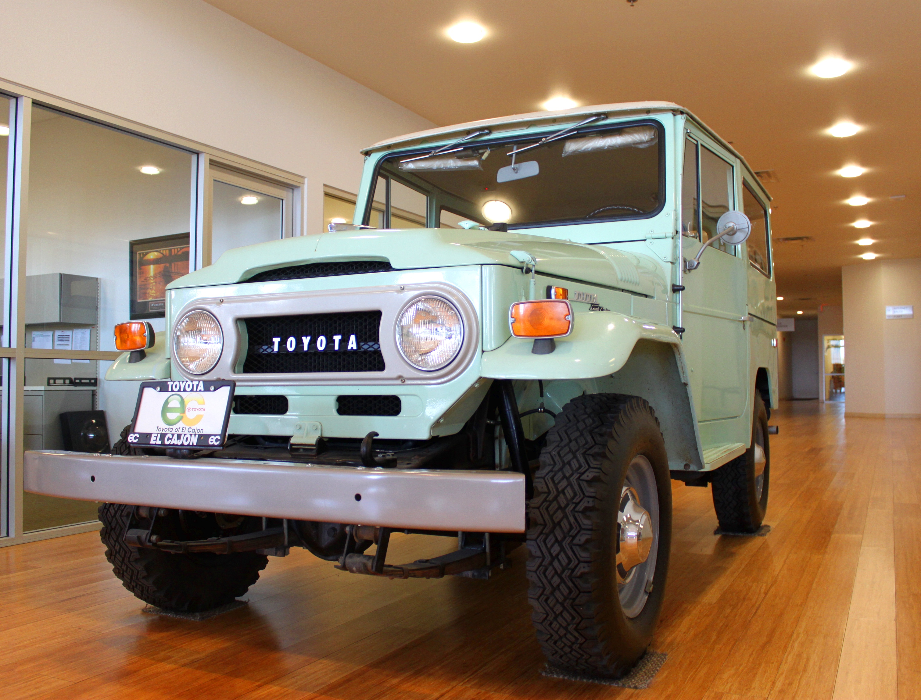 1970 Toyota Land Cruiser Information And Photos Momentcar 1960s Jeep 7
