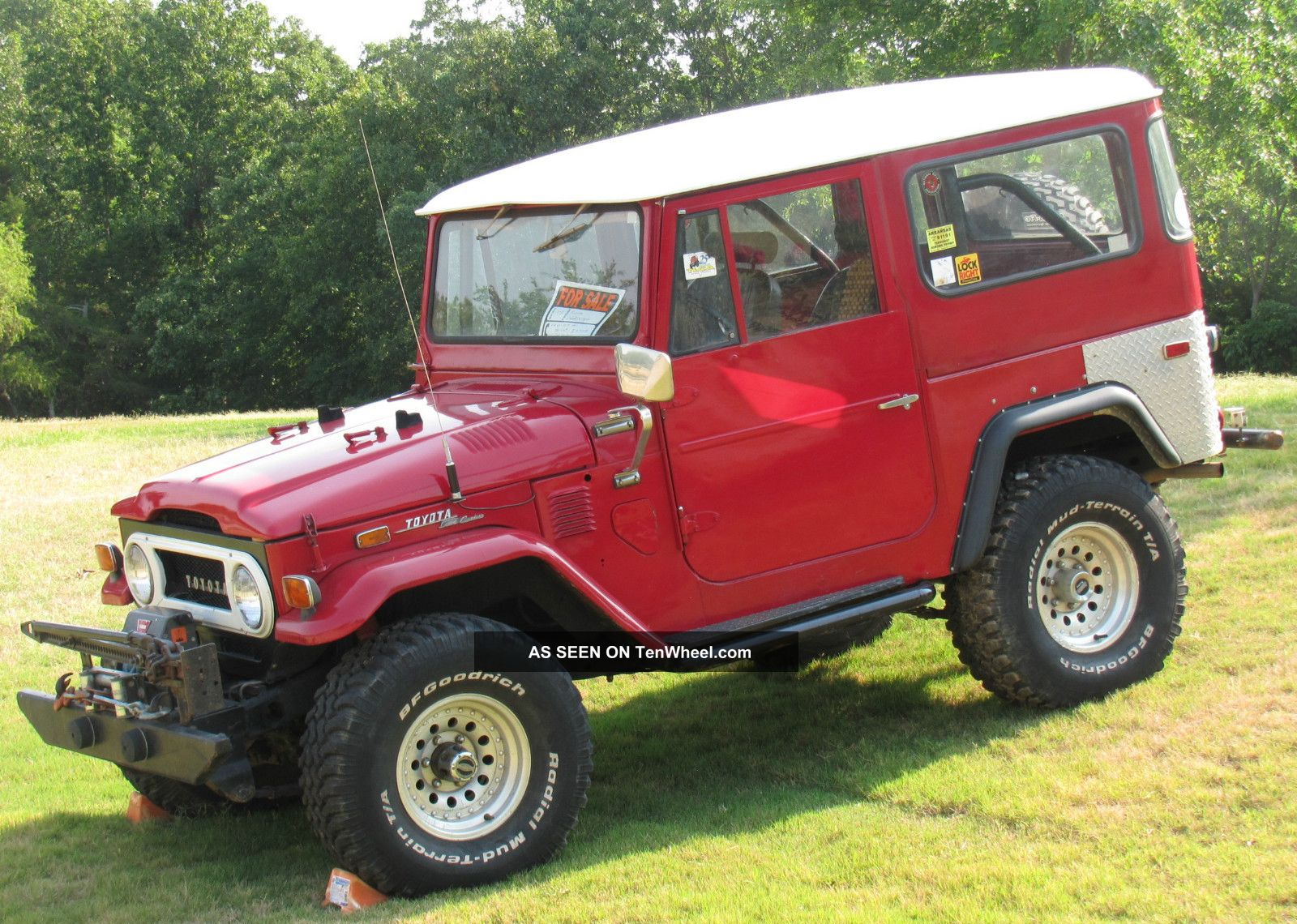 1973 Toyota Land Cruiser Information And Photos Momentcar Original 9