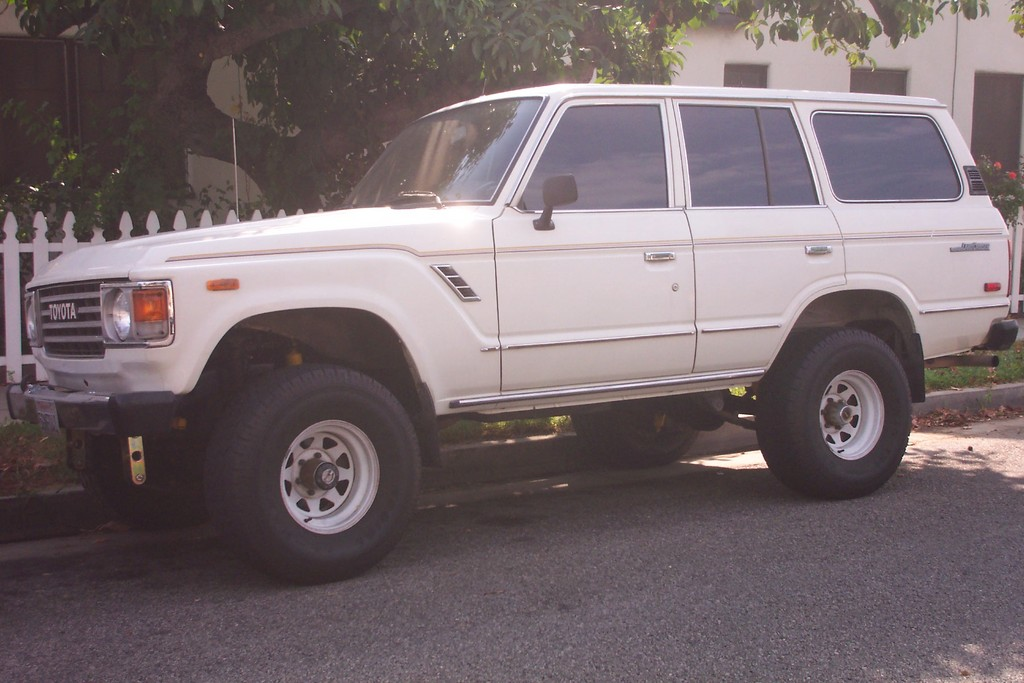 Toyota Land Cruiser 1983 #12
