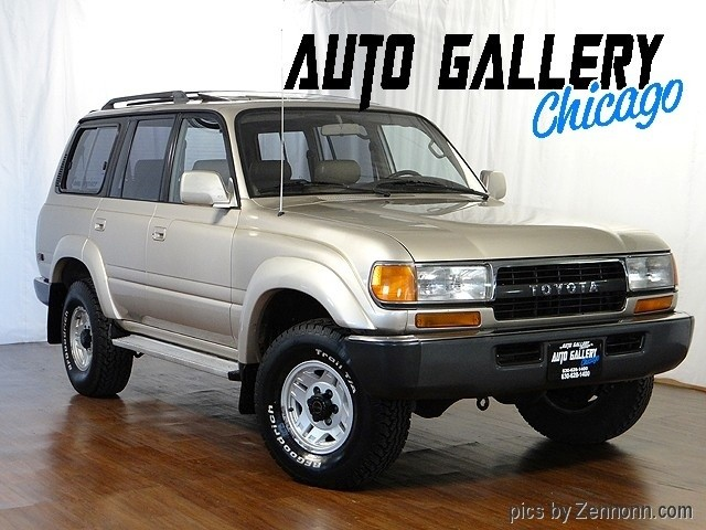 1991 toyota land cruiser information and photos momentcar. Black Bedroom Furniture Sets. Home Design Ideas