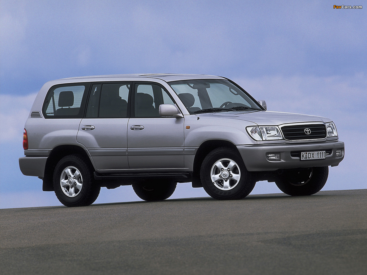 1998 toyota land cruiser information and photos momentcar. Black Bedroom Furniture Sets. Home Design Ideas