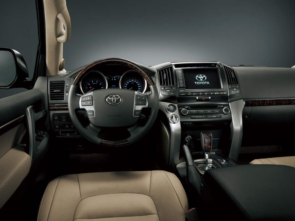 2009 toyota land cruiser information and photos momentcar for Toyota land cruiser interior