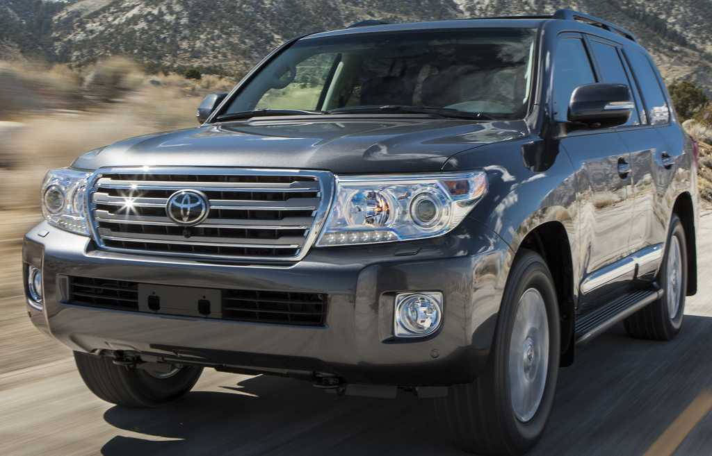 Toyota Land Cruiser 2014 #8