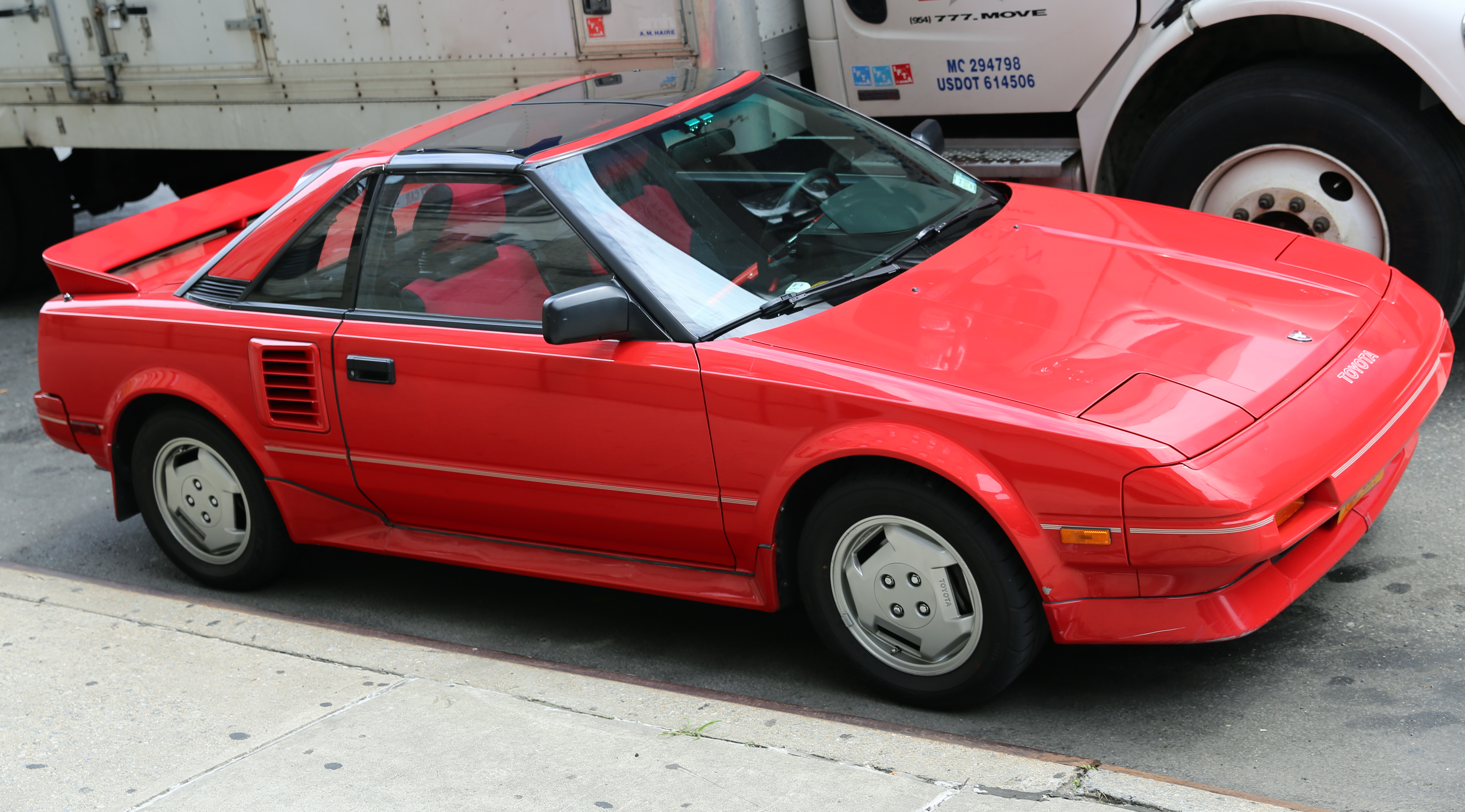 1987 Toyota Mr2 Information And Photos Momentcar