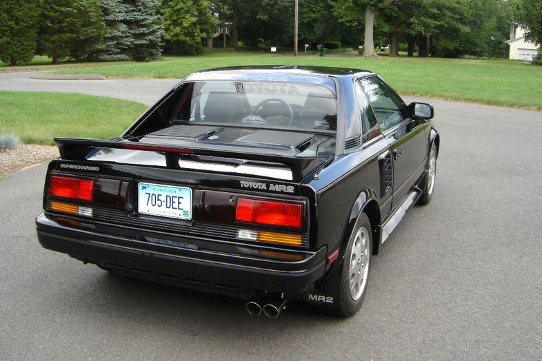 1989 Toyota Mr2 Information And Photos Momentcar