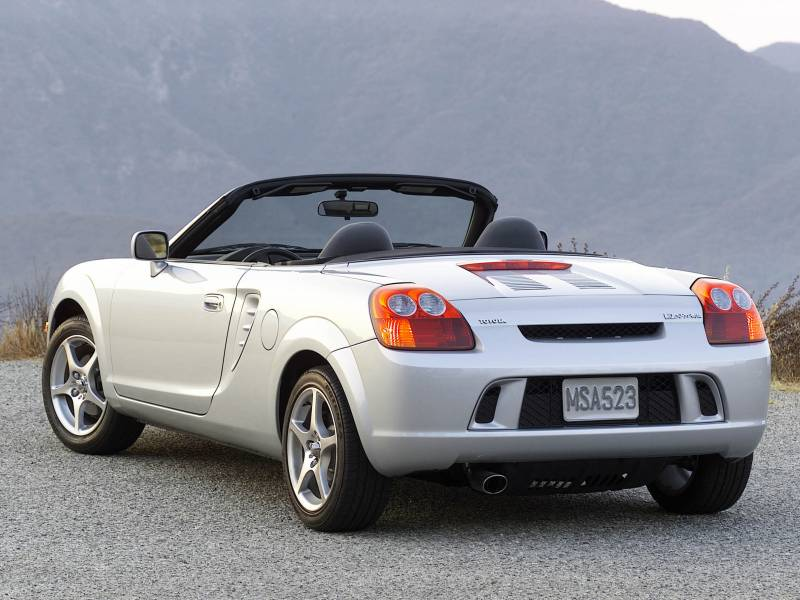 Toyota MR2 Spyder 2000 #12