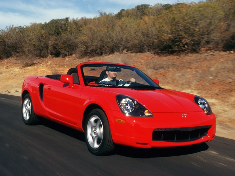 Toyota MR2 Spyder 2000 #10