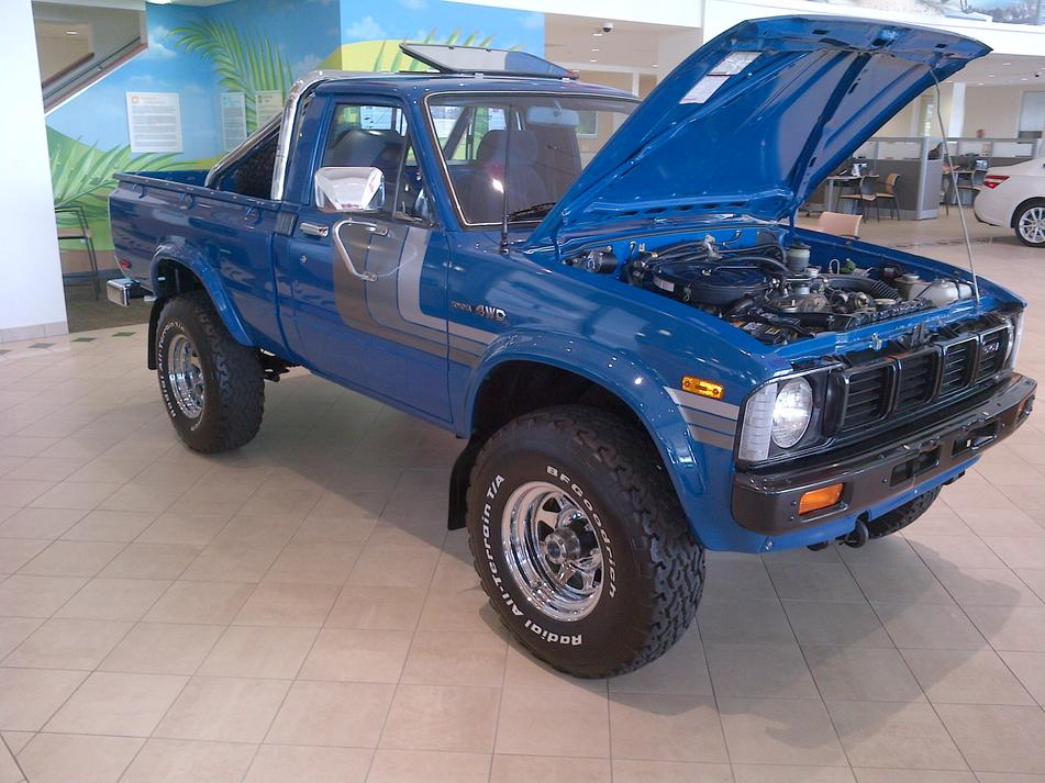 1980 Toyota Pickup Information And Photos Momentcar