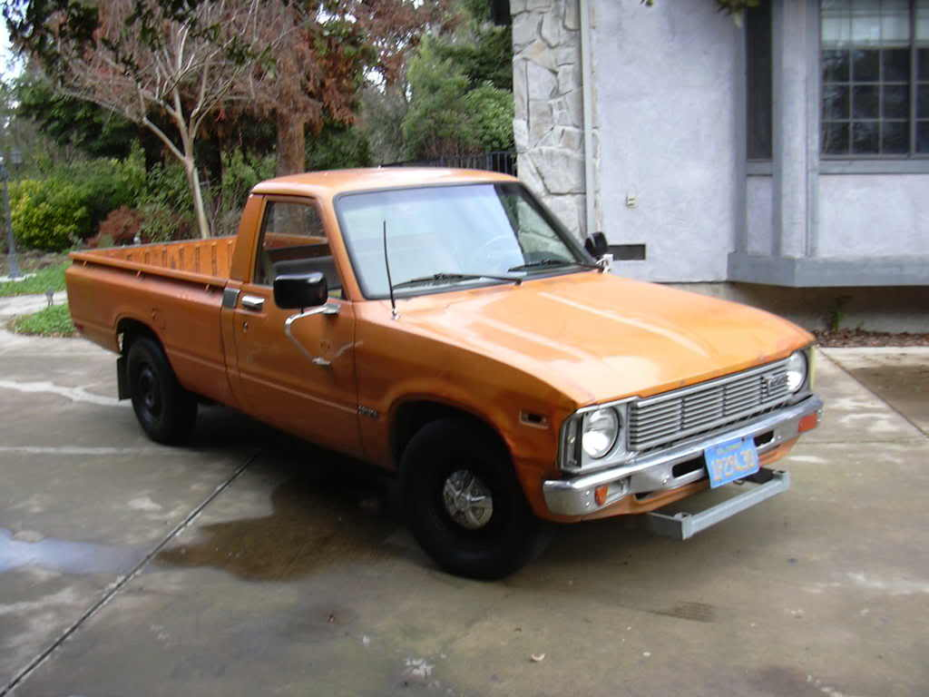 1982 toyota pickup information and photos momentcar. Black Bedroom Furniture Sets. Home Design Ideas