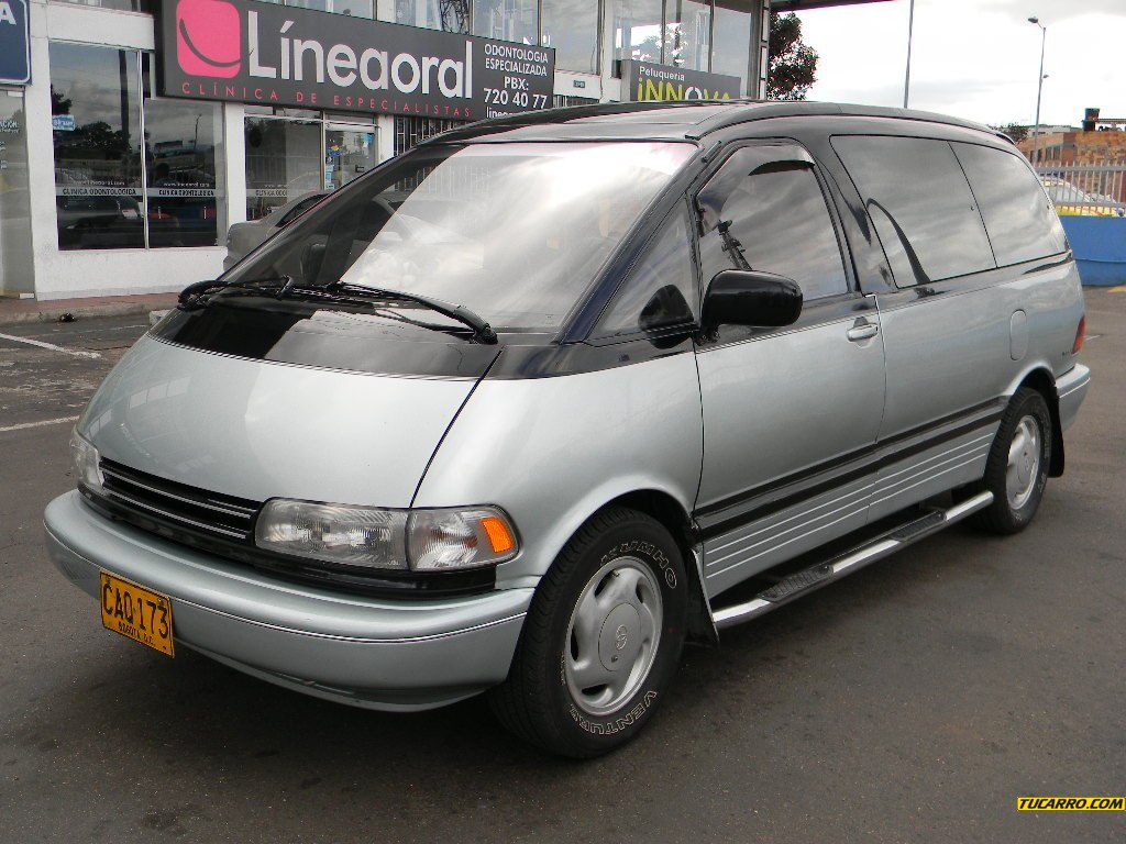 1991 toyota previa information and photos momentcar. Black Bedroom Furniture Sets. Home Design Ideas