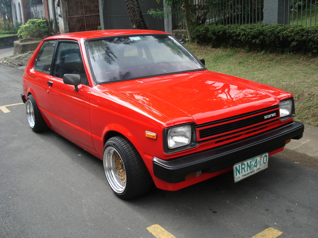 Toyota Starlet - Information and photos - MOMENTcar