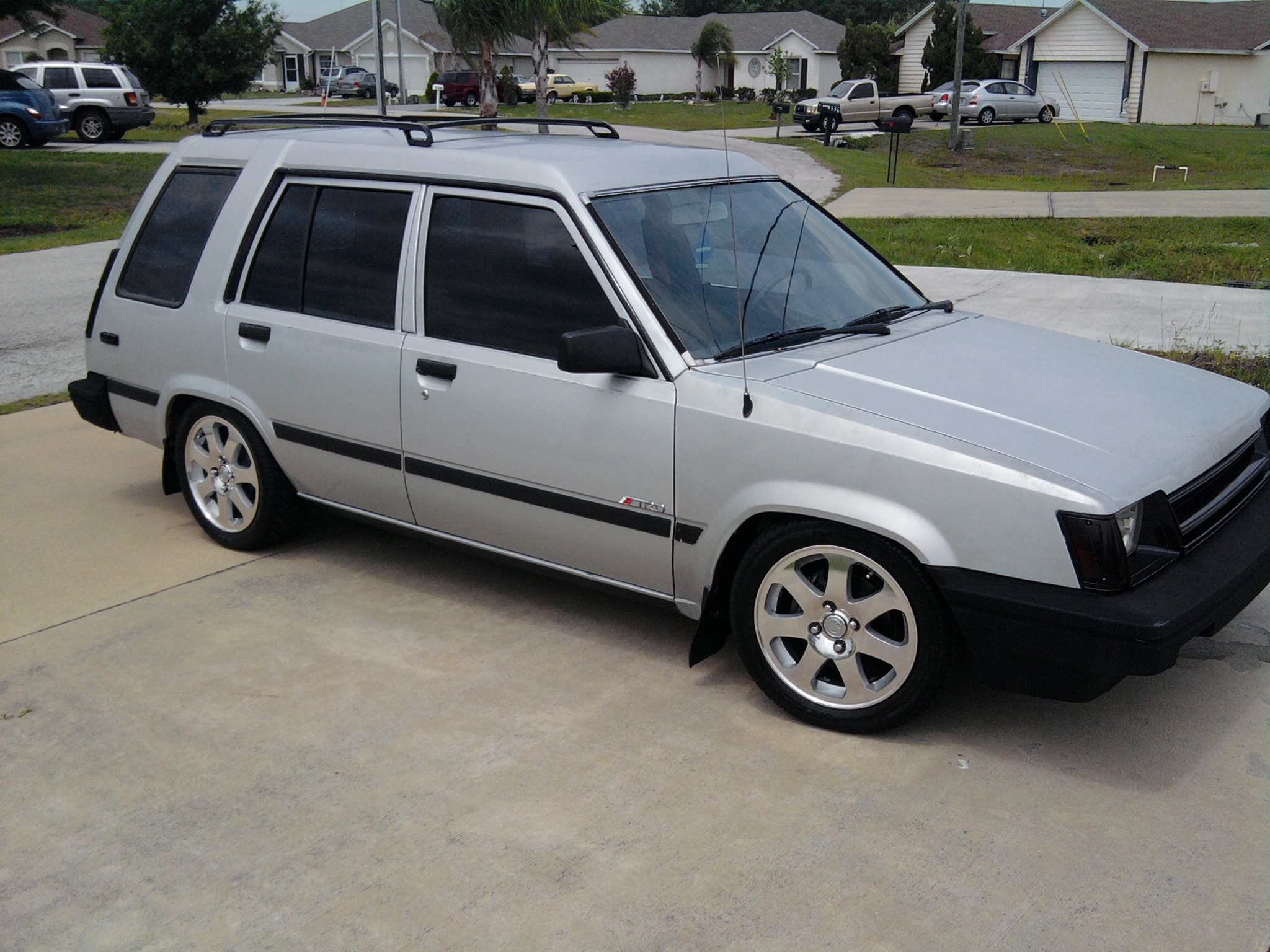 1986 Toyota Tercel Information And Photos Momentcar