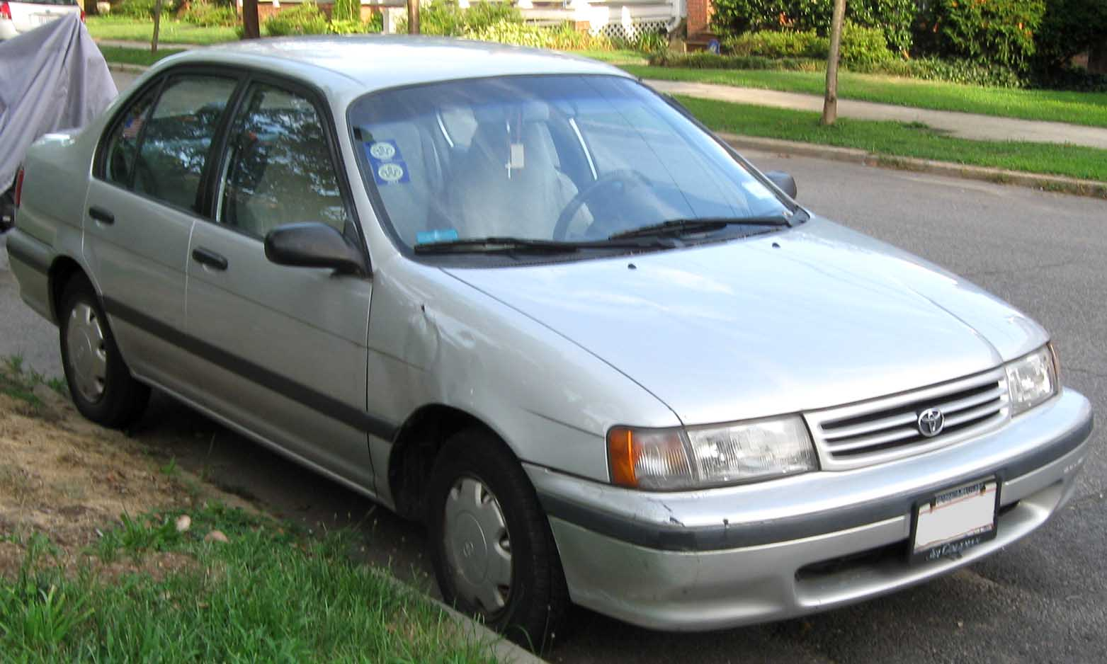 1992 Toyota Tercel - Information and photos - ZombieDrive
