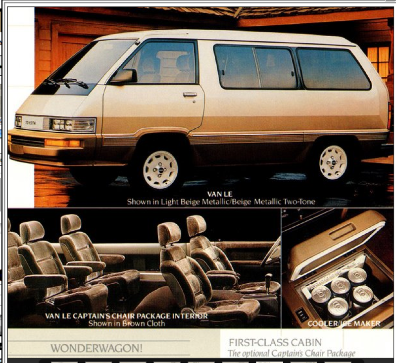 1984 Toyota Van Information And Photos Momentcar