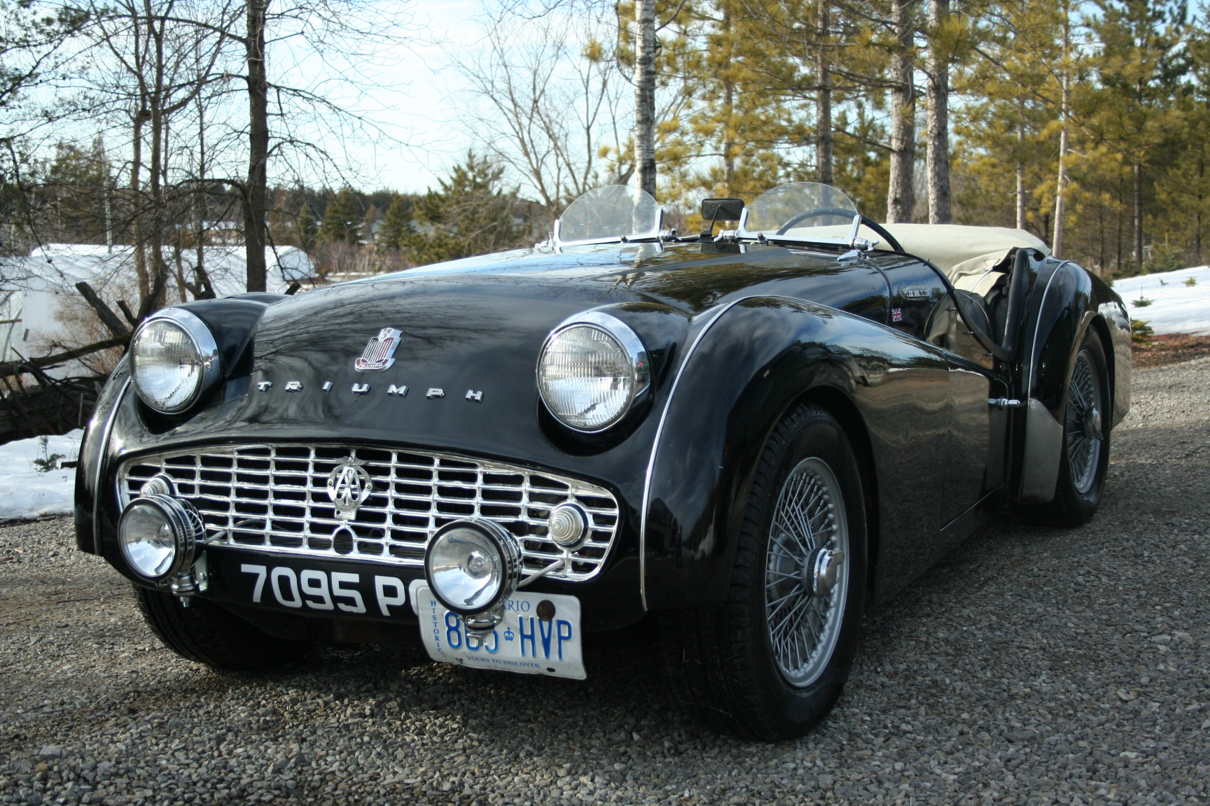 1957 Triumph Tr3 Information And Photos Momentcar