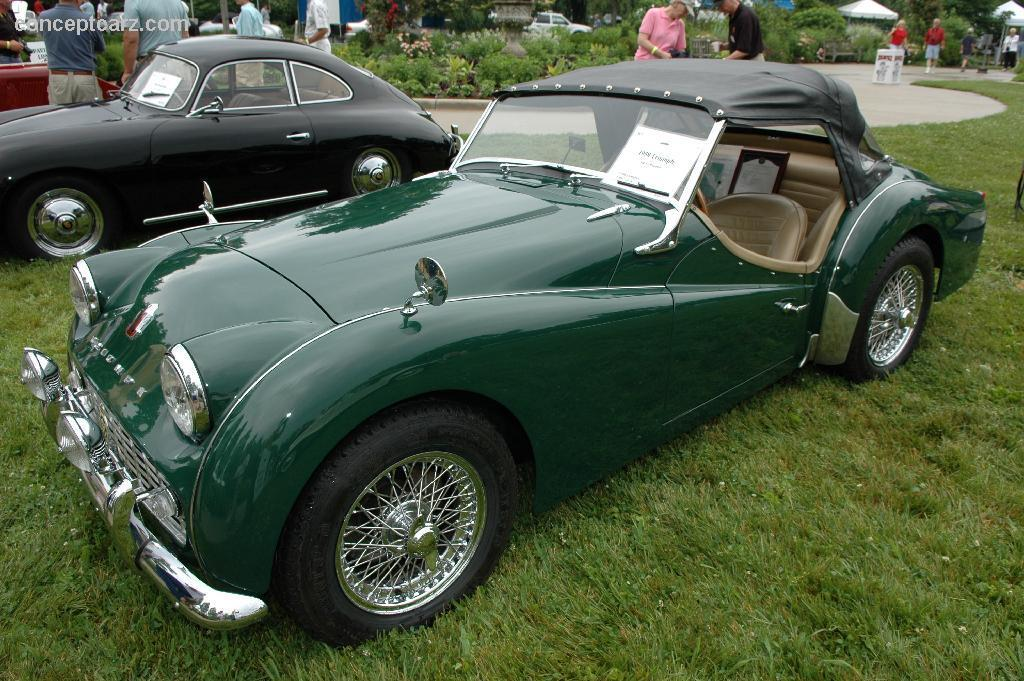 1958 Triumph Tr3 Information And Photos Momentcar