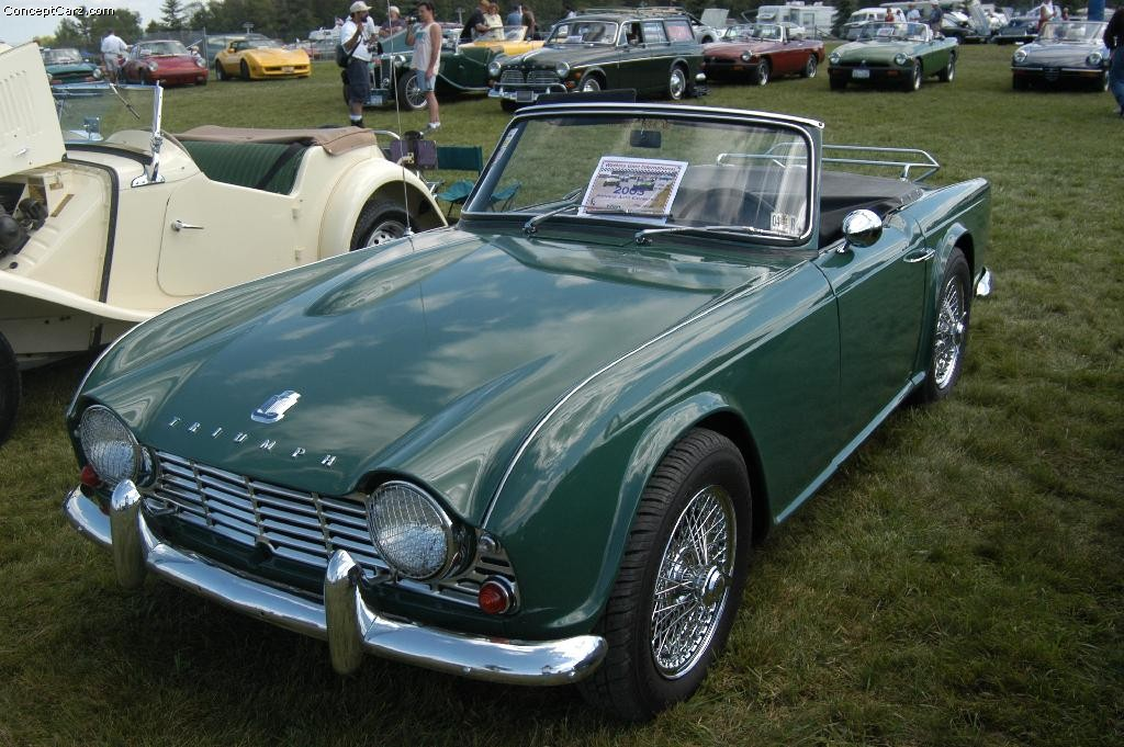 1963 Triumph Tr4 Information And Photos Momentcar