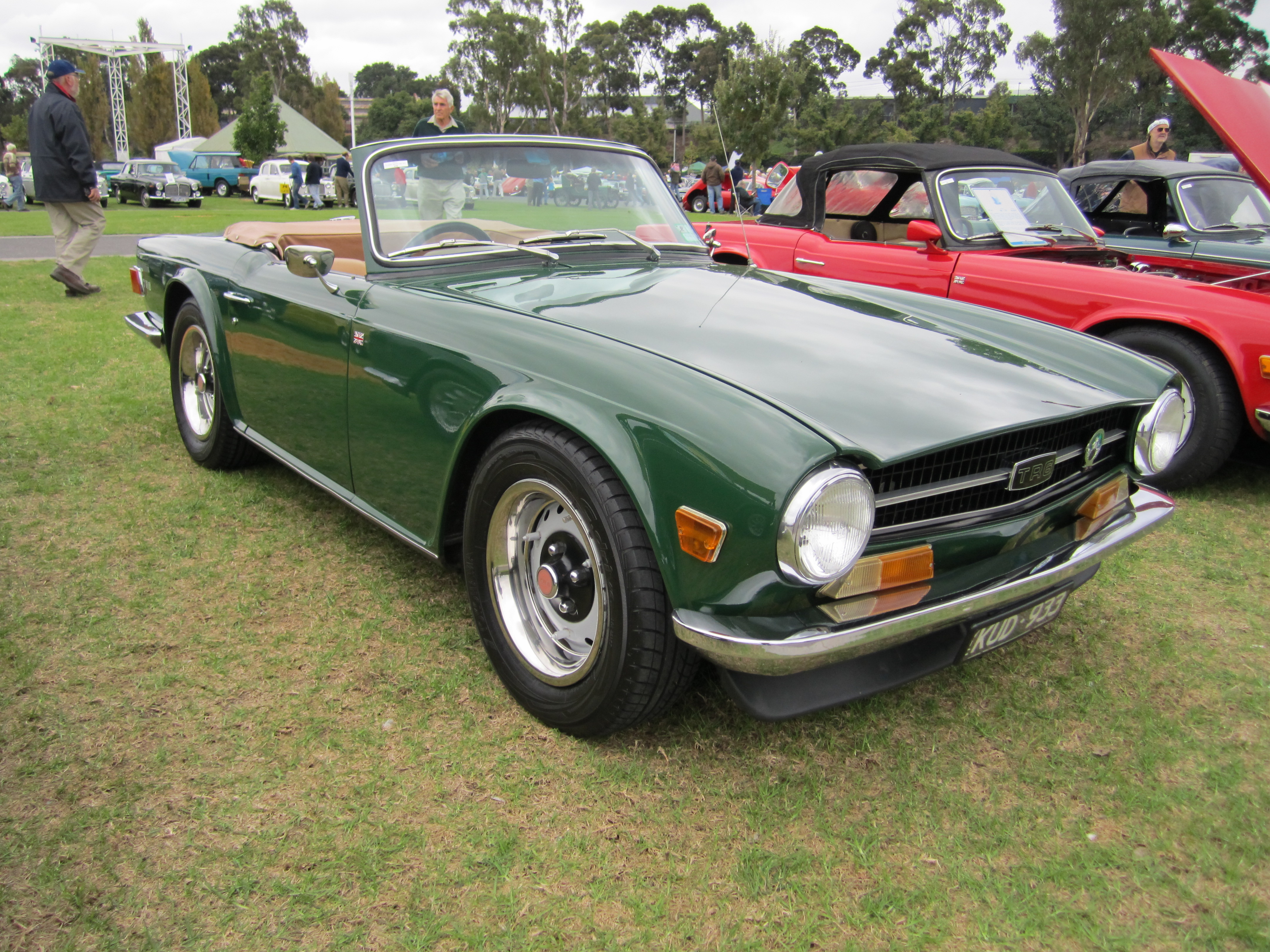 Triumph TR6 - Information and photos - MOMENTcar