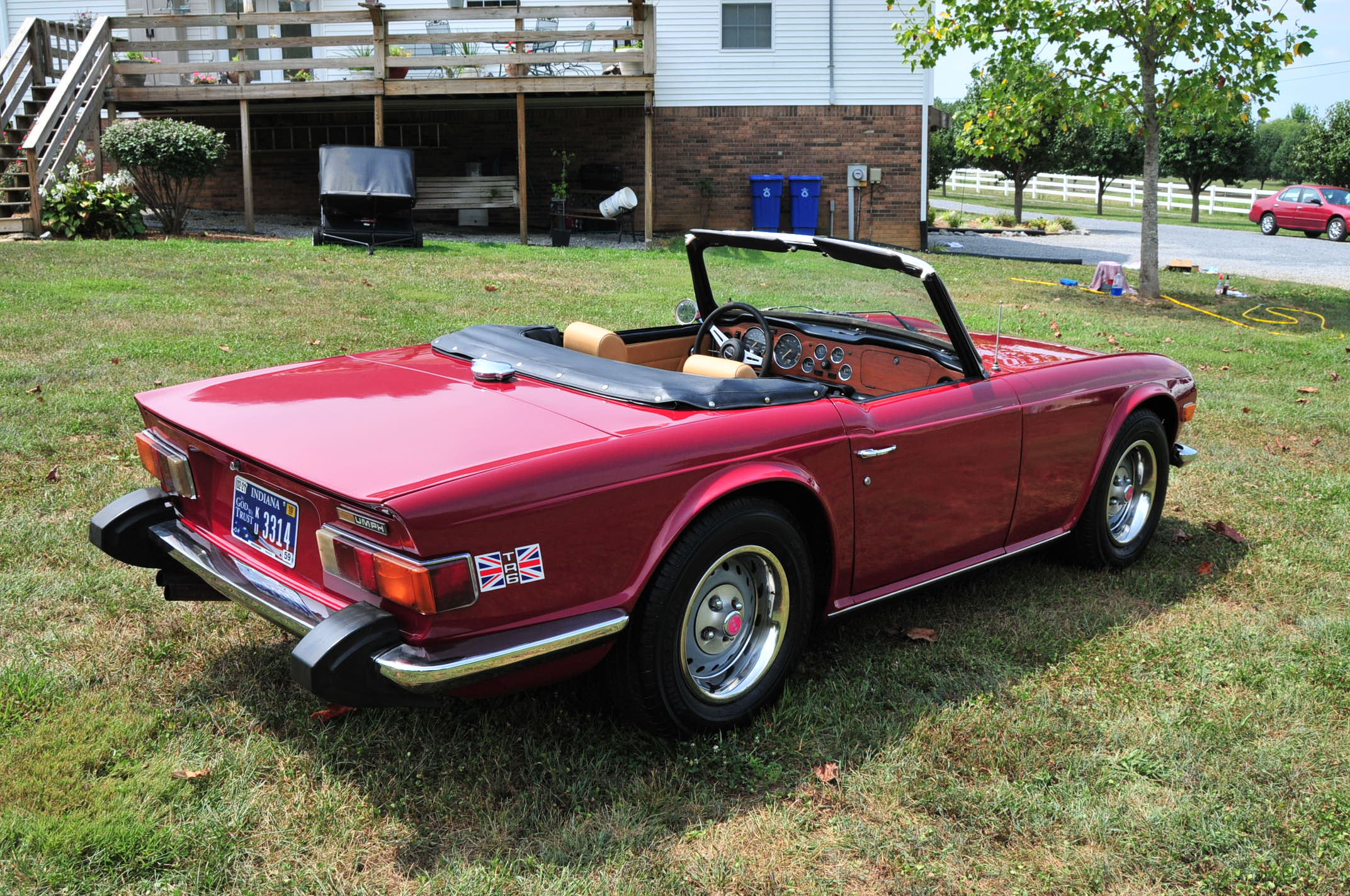 1974 triumph tr6 information and photos momentcar. Black Bedroom Furniture Sets. Home Design Ideas