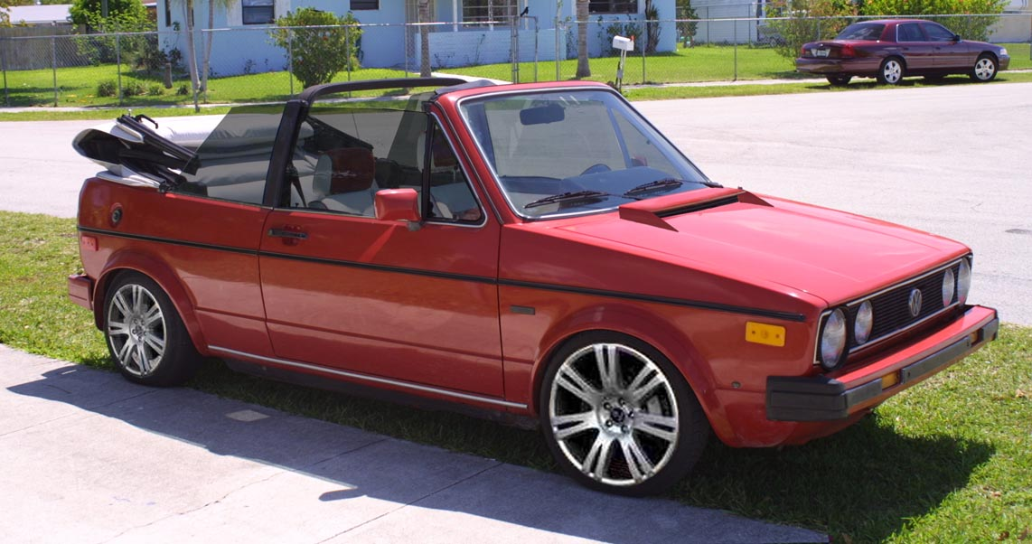 1986 Volkswagen Cabriolet - Information and photos - MOTcar