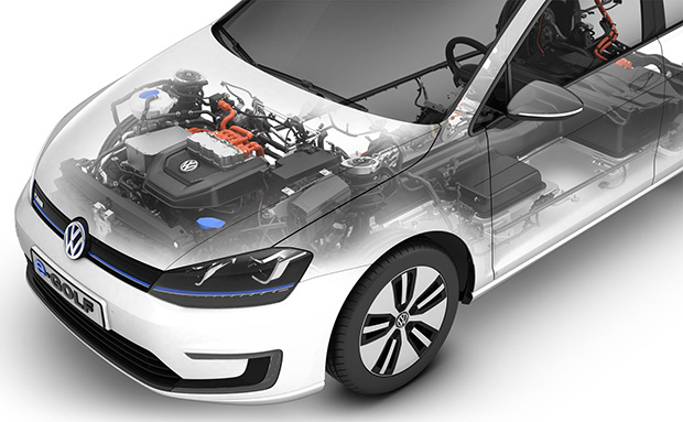 Volkswagen e-Golf #9