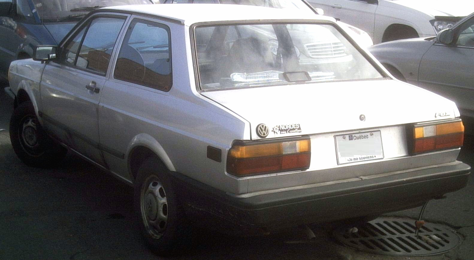 Volkswagen Fox 1993 #9