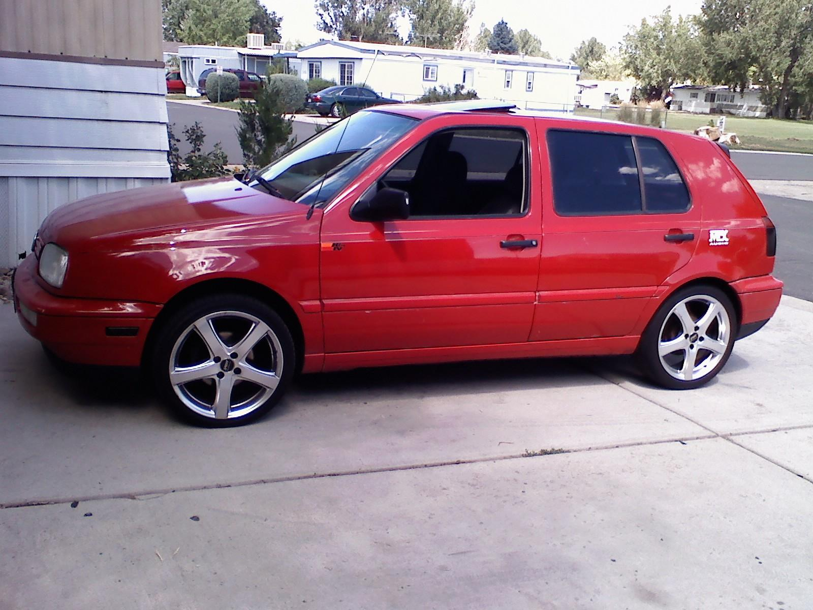 Auction results and data for 1996 Volkswagen Golf (Rabbit, GTi ...