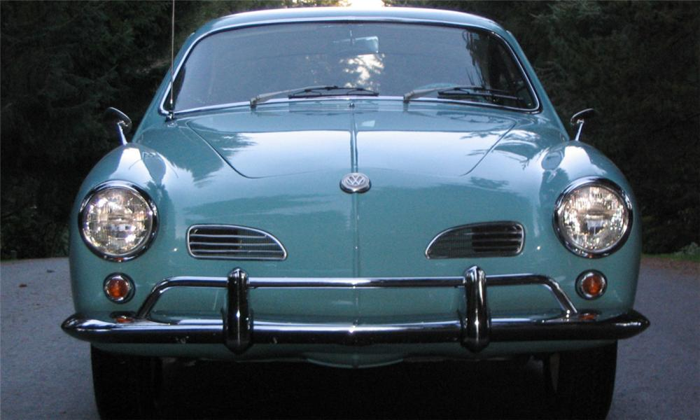 Subaru Latest Models >> 1963 Volkswagen Karmann Ghia - Information and photos ...