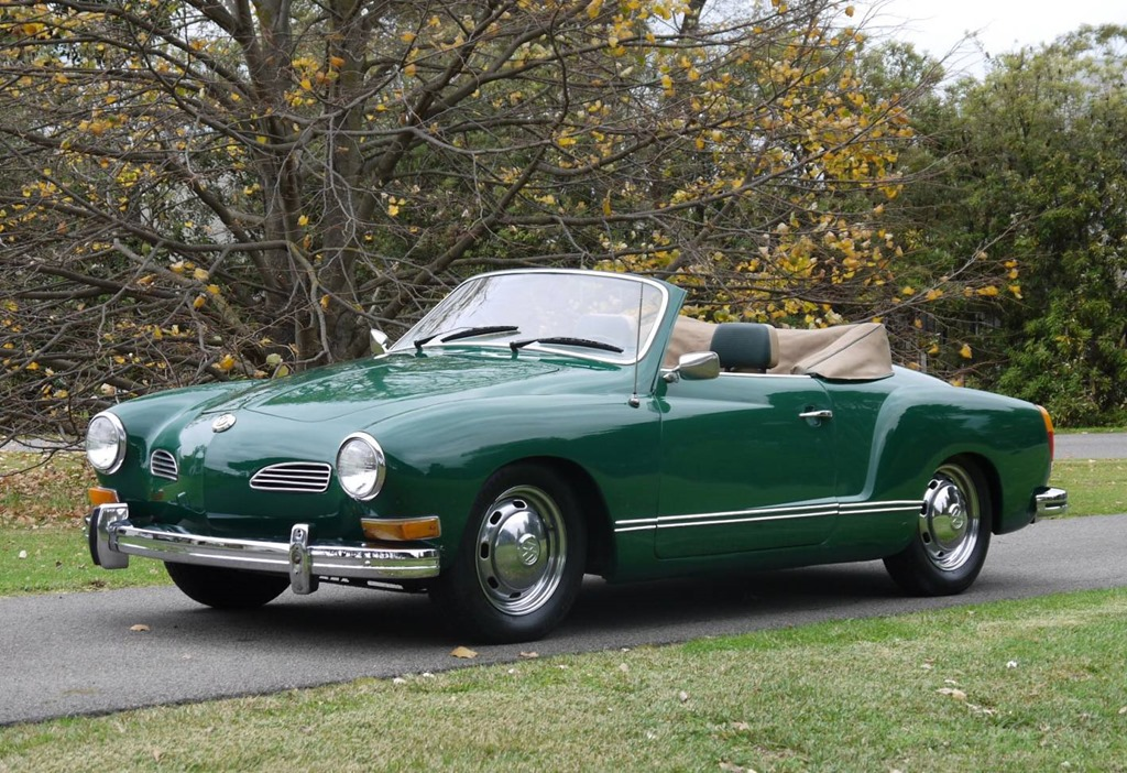 1973 Volkswagen Karmann Ghia Information And Photos
