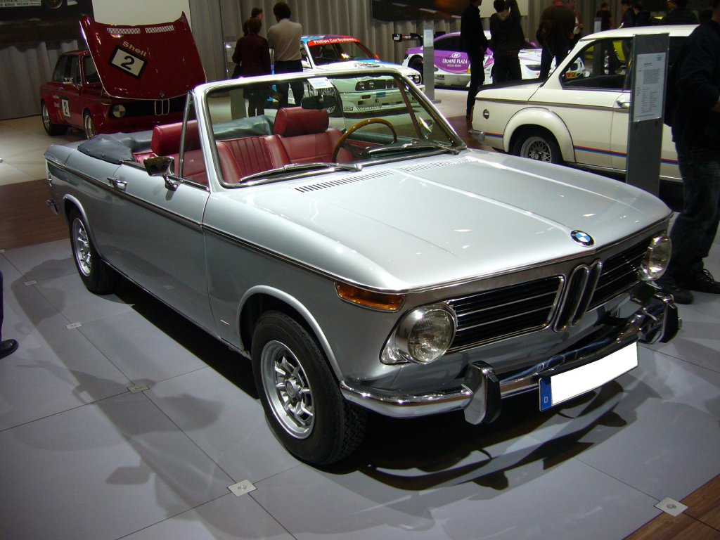 When the past becomes actual today with BMW 2002 1502 model #9