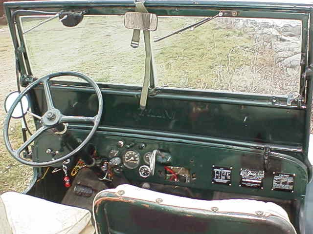 willys jeep dashboard diagram  jeep  auto parts catalog