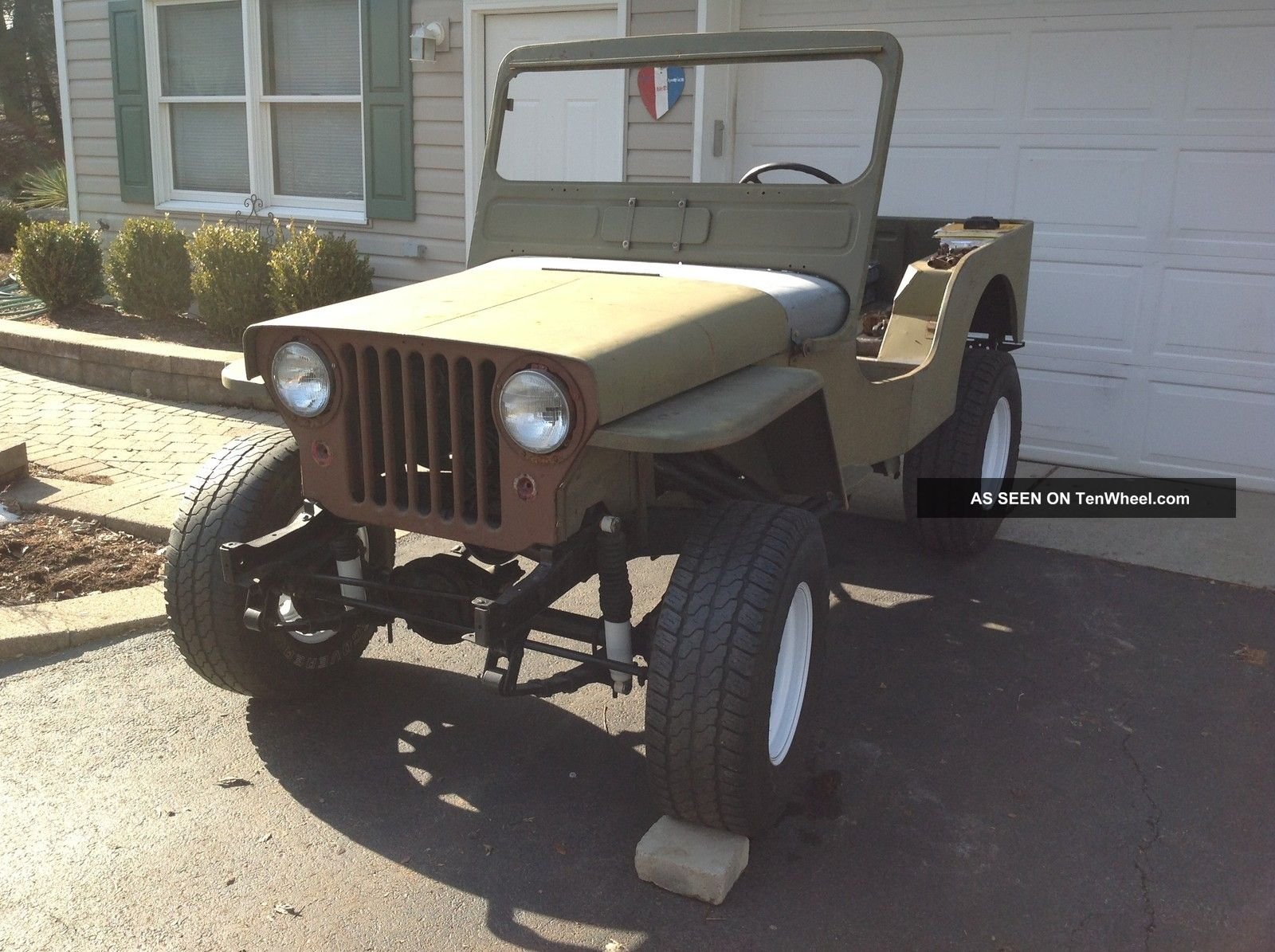 1952 Willys Cj 3a Information And Photos Momentcar 52 Wiring Diagrams For 4