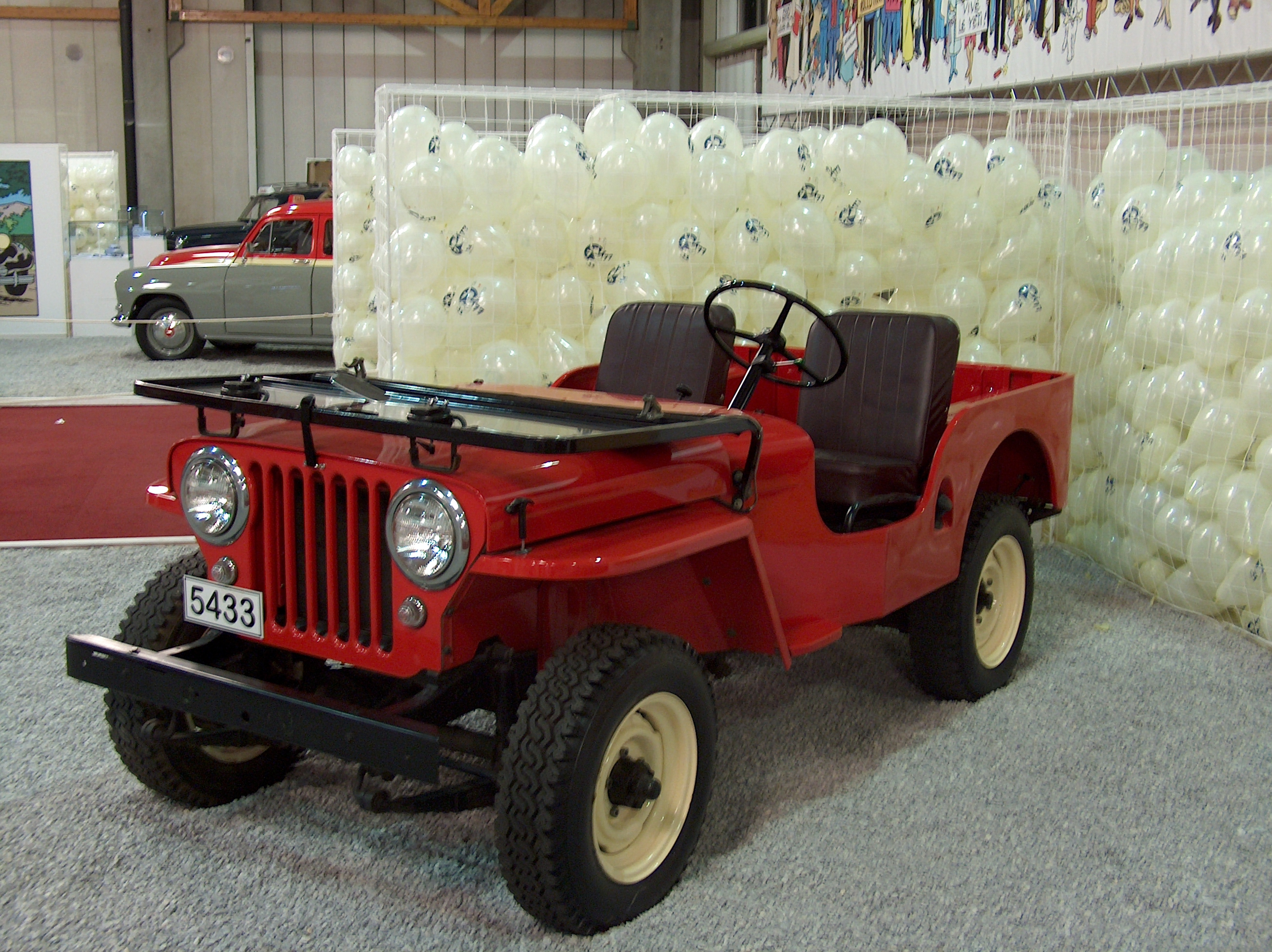 1952 Willys Cj 3a Information And Photos Momentcar 52 Wiring Diagrams For 5