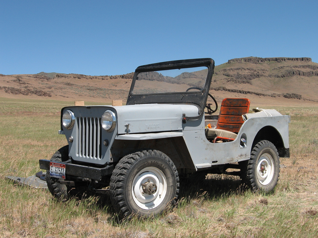 Willys CJ-3B #1
