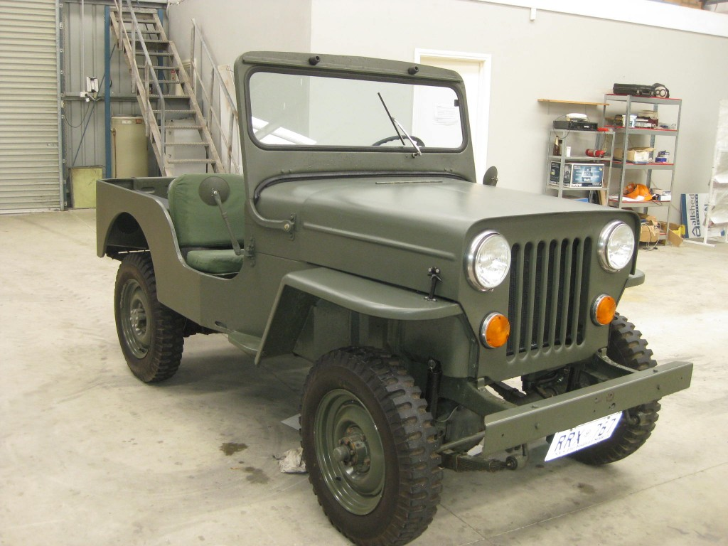 1956 Willys Cj 3b Information And Photos Momentcar