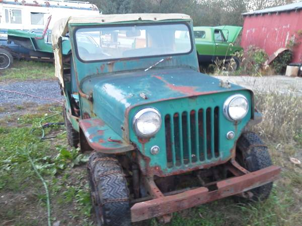 1957 Willys CJ-3B - Information and photos - MOMENTcar