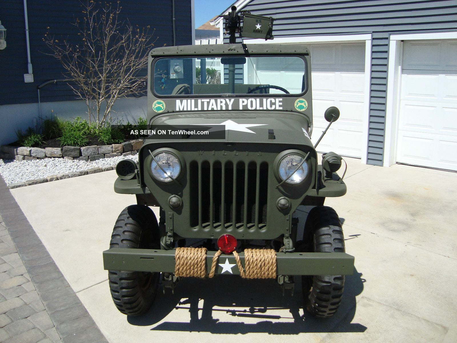 Willys CJ-3B 1960 #4