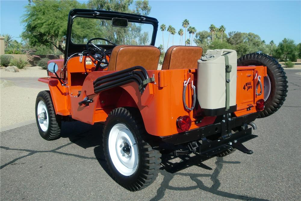 Willys CJ-3B 1960 #5